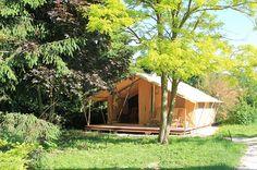 Family Ecolodge - La tente safari-lodge http://bougerenfamille.com/vos-meilleures-vacances-a-la-campagne/