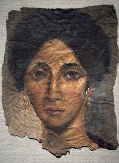 (c. 150 CE) Funerary Portrait