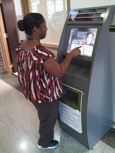 Depot Health and Human Services Interactive Kiosk