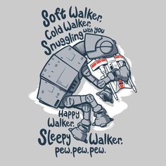 Soft Walker Soft Kitty Star Wars Shirt by RebelArtUnderground - large mens clothing, mens fashion clothing online, mens fashion clothing online shop Simbolos Star Wars, Star Wars Meme, Funny Star Wars Shirts, Geek Shirts, Star Wars Tshirt, Chewbacca, Star Wars Kindergarten, The Bigbang Theory, Star Wars Nursery