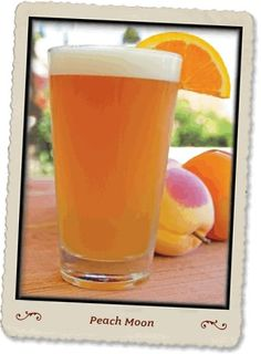 Peach Moon, a killer summer combo. To make, mix Blue Moon, Peach Schnapps, orange juice and enjoy outside.