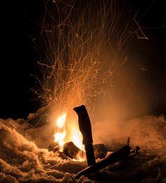 Light and heat into the darkness!  http://puukkopaja.fi