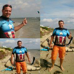 Koszulka Captain America & kite f-one