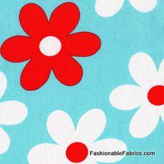 Fabric... Lil Plain Jane in Aqua by Michael Miller Fabrics