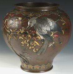 Bronze Vase - Suzuki Chokichi