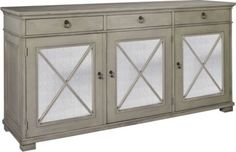 Deauville Sideboard from the Suzanne Kasler® collection by Hickory Chair Furniture Co.