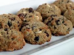 Oatmeal, cranberry, white chocolate, & pecan cookies. Seriously, all ...