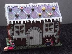 My kind of gingerbread house~ It's poiple LOL