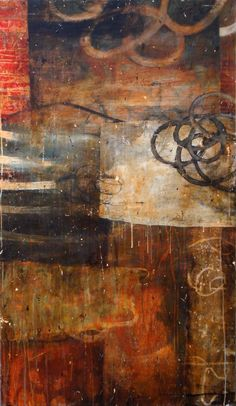 "Bill Gingles. A Recent History of What's Possible   2008 Acrylic on canvas  60"" x 36"""