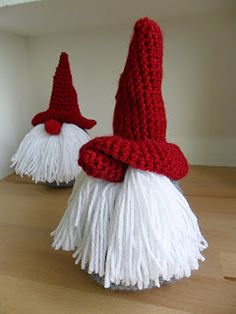 Tomte tutorial! In Dutch, but aw, they look cute as a button :)