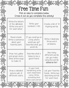 Do you ever have early finishers? Well, snag Free Time Fun below to keep in your students' desks. They simply pull it out when they have a few free moments! {Right now, I use the BAT Book in my class for early finishers} Fonts: KG Fonts & Cara Carroll Graphics: Pink Cat Studio Can you …
