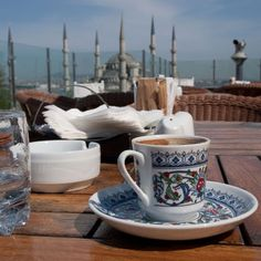 Foods around the world from Around The World In 18 Days - ISTANBUL - COFFEE #coffee #coffeerecipes #turkishcoffee