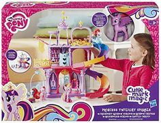 My Little Pony - A8213eu60 - Mini-poupée - Rainbow Château De Twilight