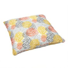 Tango Bloom Corded Outdoor/ Indoor Large 28-inch Floor Pillow | Overstock.com Shopping - The Best Deals on Outdoor Cushions & Pillows