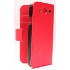 Galaxy S3 punainen lompakkokotelo. Samsung Galaxy S3
