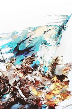 Final Fantasy XIV A Realm Reborn Art