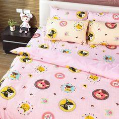 床包組-單人  [招財貓-粉色]含一件枕套, 高透氣棉,Artis台灣製內容件數:薄床包x1+美式枕套x1 材質:20%棉80%極細纖維 產地:台灣 尺寸:單人