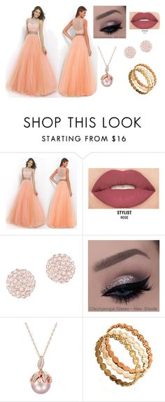 """HJ"" by hazreta-jahic ❤ liked on Polyvore featuring Smashbox and Swarovski"