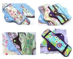 Mama Cloth Pad Pattern - DIY, PDF sewing Pattern, Make it Yourself, Regular, Heavy, Post Partum