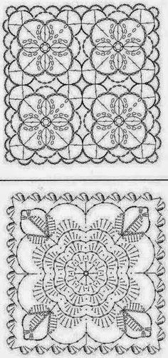 Crocheted motif no. 7