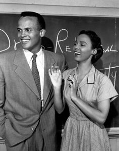 Dorothy Dandridge  Harry Belafonte. Actors