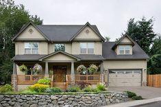 Craftsman Style House Plan - 4 Beds 2.5 Baths 2500 Sq/Ft Plan #48-105 Exterior - Front Elevation - Houseplans.com