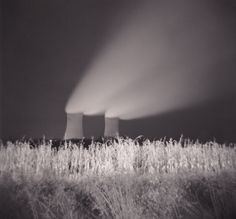Night capture of the Limerick nuclear power plant by Gordon Stillman