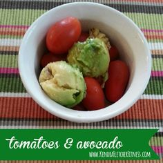3 Day Refresh approved recipe for Tomatoes and Avocado: http://kendrafletcherfitness.com/2015/02/11/tomatoes-and-avocado/