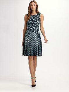 Oscar de la Renta Tweed Dress, Saks.com, $2350
