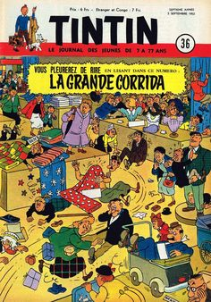 Le Journal de Tintin - Edition Belge - N°  311 - 1952-36 - Mercredi 3 Septembre 1952 - Couverture : Bob de Moor