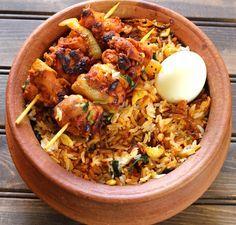 CHICKEN TIKKA BIRYANI - Cook with Kushi