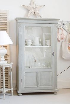 VINTAGE: Painted Armoire £895 from www.decorativecountryliving.com