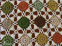 (Crochet)     The crochet tablecloth for my dinner table is finally finished…   Finalmente el mantel en ganchillo para mi comedor está term...