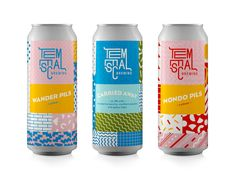 Temescal Brewing's Bold Design is a Lesson in Controlling Visual Chaos — The Dieline | Packaging & Branding Design & Innovation News