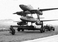 """stukablr: """"Mistel Messerschmitt Me262 """""""