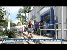 FGTS: Trabalhadores acordam cedo para evitar filas na Caixa