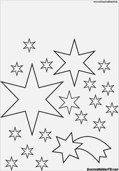 Stern Vorlage Ausschneiden Selbermachen Vorlage Stern Sterne