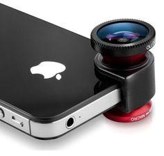 ¿Y este lente para tu iPhone? Está bueno ¿No?