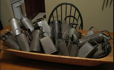 collection of graters