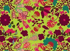 inspirada en textiles mexicanos by jimena palacios, via Behance