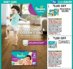 68 best coupons images on pinterest coupon codes frugal and save pampers coupon up to 300 off fandeluxe Choice Image