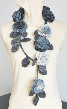 crochet lariat pattern - Cerca con Google                                                                                                                                                                                 More