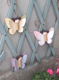 cartoncino mio: Farfalle con tappi di sughero