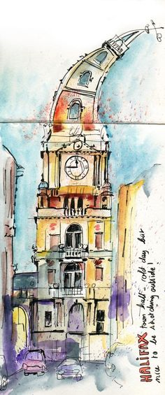 Urban Sketching When You Don't Have Time: Draw Now! | Urban Sketchers
