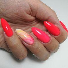 Orange Nails, Red Nails, Nail Ru, Instagram Nails, Colorful Nail Designs, Nail Swag, Nagel Gel, Nail Polish Colors, Nails Magazine
