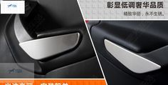 Interior Accessories For Ford Kuga / Escape 2013 2014 2015 stainless steel Inner Door Arm Trim Ford, Interior Accessories, Car Seats, Stainless Steel, Arm, Accessories, Car Seat, Ford Expedition
