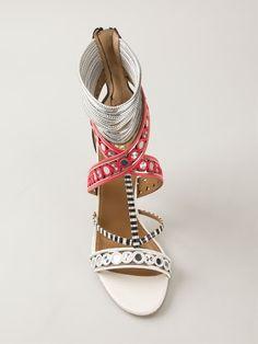 Aquazzura 'the Queen' Sandals - Al Duca D'aosta - Farfetch.com