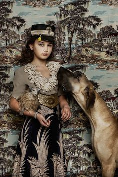 Animal Child Series by Shelly Mosman