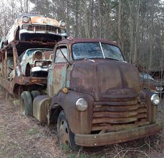 Chevrolet Car Hauler Complete With A Load Of Barn Find Cars