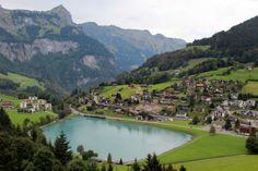 K Village Lake District mountain lake village europe | Engelberg – the beautiful village in ...